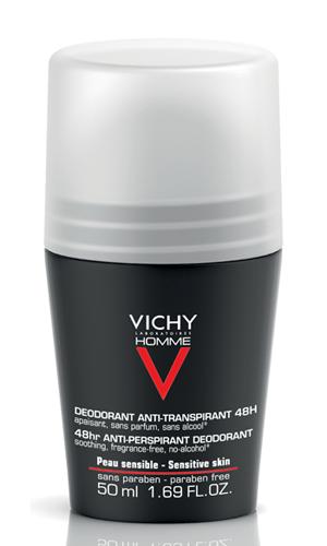 Дезодорант Vichy Homme 48 часов для чувствительной кожи отзывы