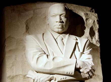 Мартин Лютер Кинг, борец за ненасилие