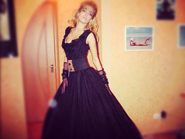 Татьяна Терешина примерила свадебное платье