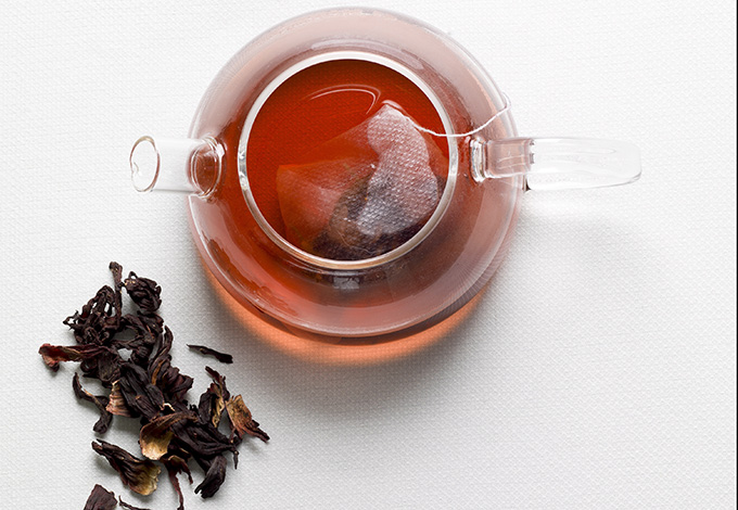 Марокканский чай с каркаде