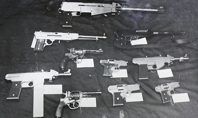 Самодельное оружие банды «Фантомасы»