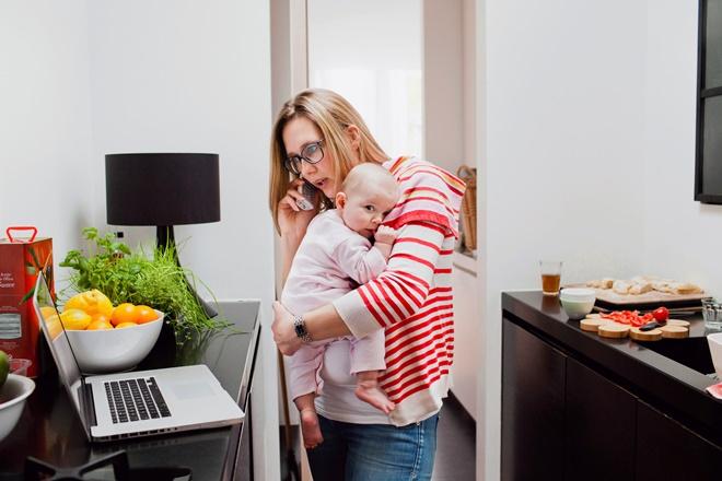 Советы мамам, работающим дома