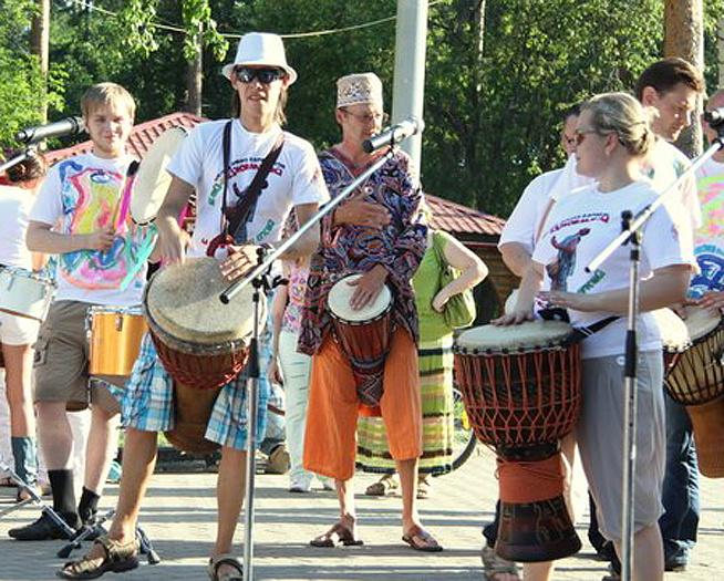 Фестиваль «Барабаны за мир», фото