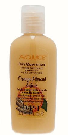 Лосьон для рук Skin Quenchers, Avojuice с ароматом апельсина и миндаля. Мини-версия