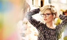 Кейт Мосс снялась в рекламе Vogue Eyewear