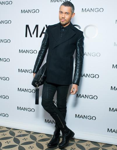Александр Рогов на показе Mango весна-лето 2012