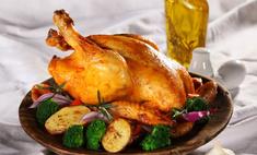 Любимое блюдо – курица, запеченная в духовке