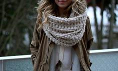 Пример звезд: как завязывать шарф?