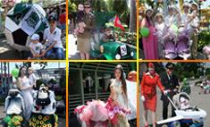 «Бал колясок» в Краснодаре: выбираем самый оригинальный экипаж
