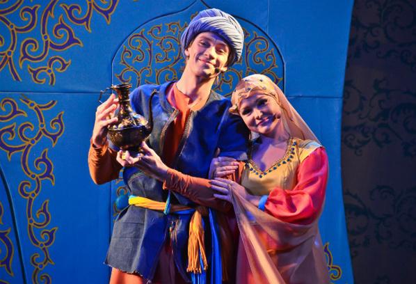 Спектакль «Али-баба и 40 песен Персидского базара»