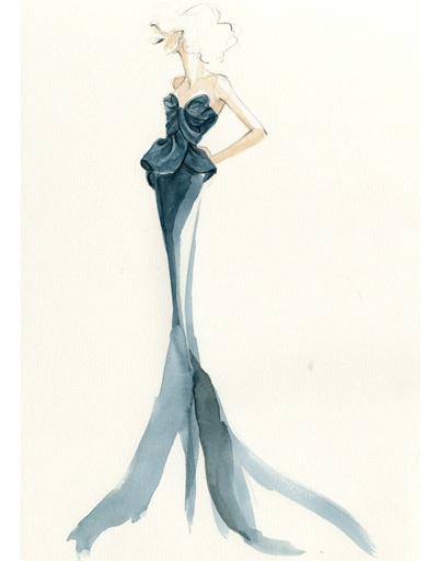 Платье Marchesa для Ариэль