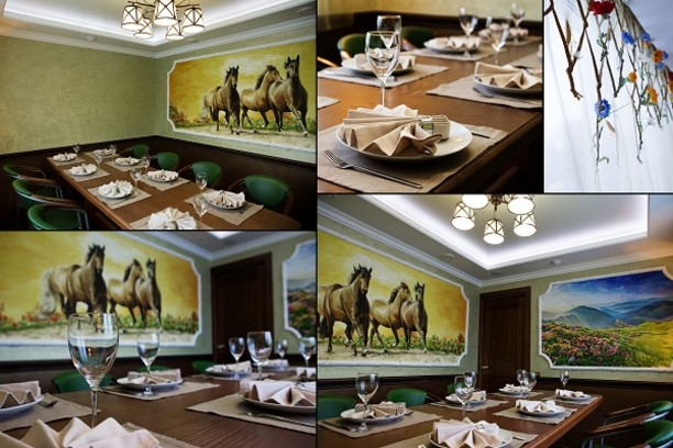 Ставрополь, кафе «Глория», банкетный зал «Вольница»