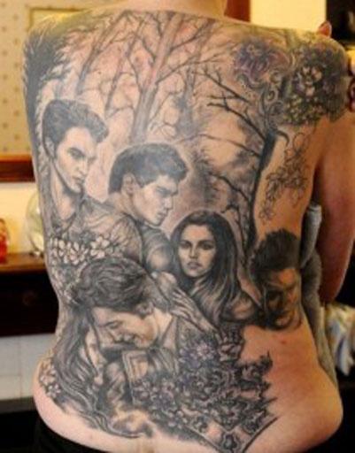 Татуировки кино