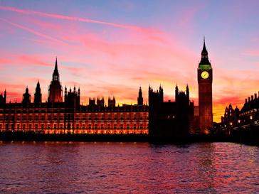 Британский парламент в Лондоне
