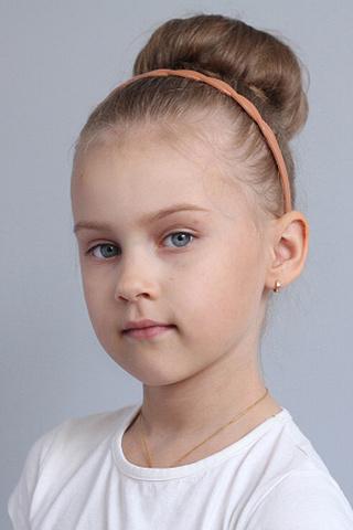 Дарья Мельникова, «Топ модель по-детски-2016», фото
