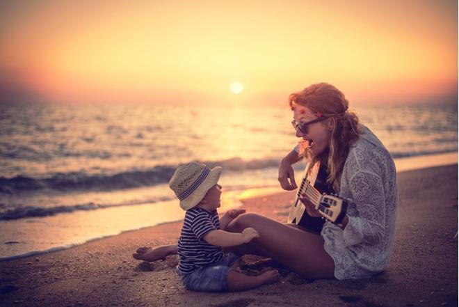 Полчаса вместе с мамой делают ребенка умнее