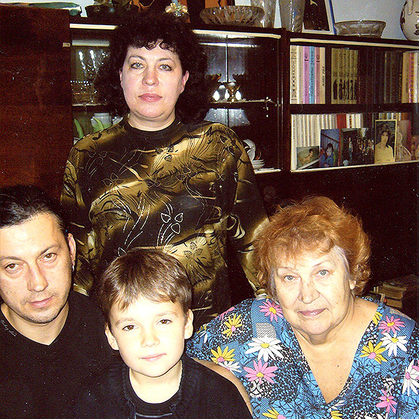 семья Жени Белоусова