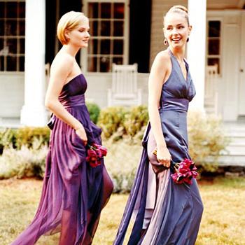 Воздушные платья цветов заката: фиолетовый, индиго, сливовый.