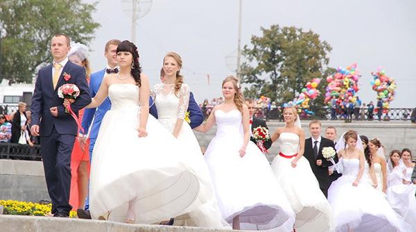 «Городская свадьба», День города