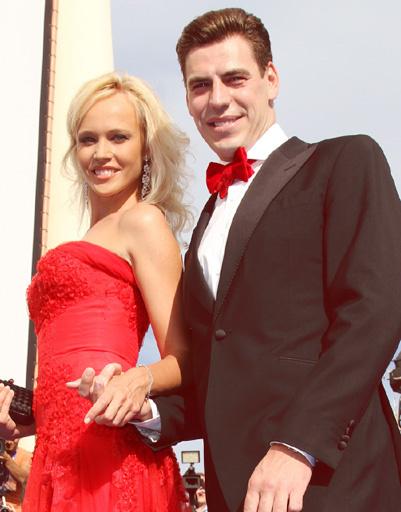 Дмитрий Дюжев с супругой