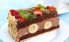 Банановый торт: быстрый рецепт
