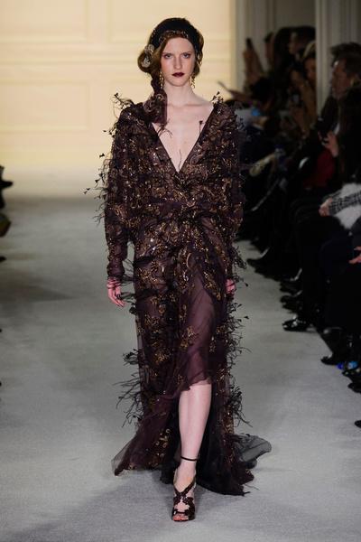 Показ Marchesa на Неделе моды в Нью-Йорке | галерея [1] фото [13]