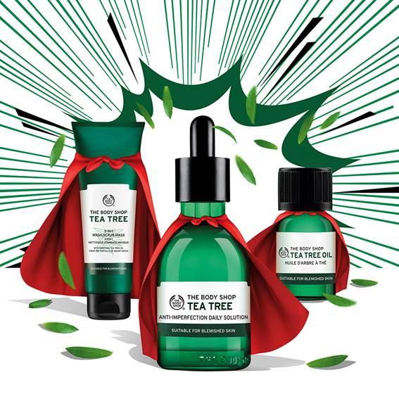 The Body Shop, коллекция «Чайное дерево»