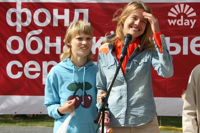Наталья Водянова с сестрой Оксаной фото