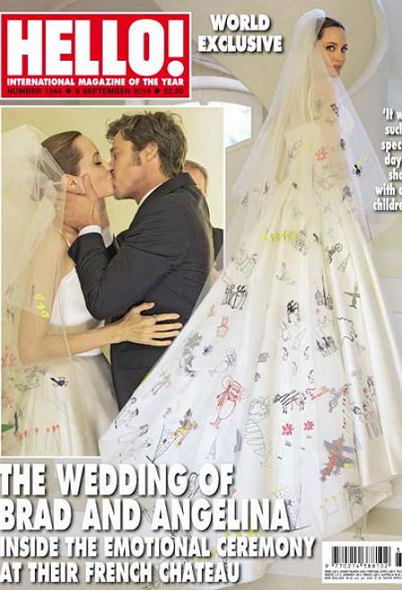 Свадьба Бред Питт и Анджелина Джоли: фото