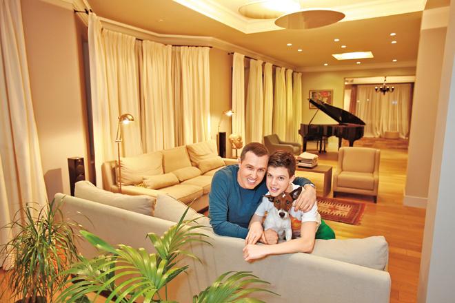 Игорь Верник с сыном