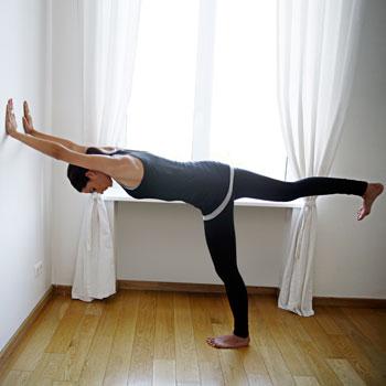 6. Подъем ноги