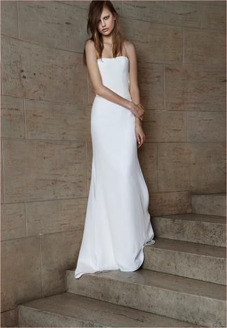 Коллекция 2015 Веры Вонг - платье-колонна