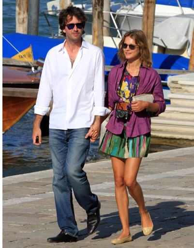 Наталья Водянова и Антуан Арно в Венеции