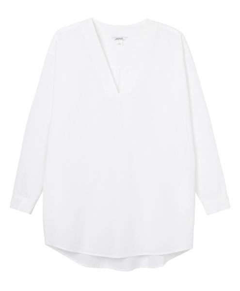 Белая рубашка Monki, 2500 р.