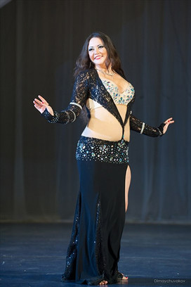 Екатерина Кораблина самая обворожительная восточная танцовщица Самары