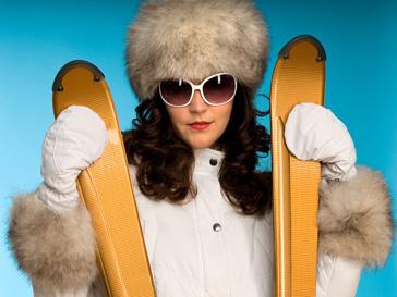 Горные лыжи с бриллиантами поступили в продажу