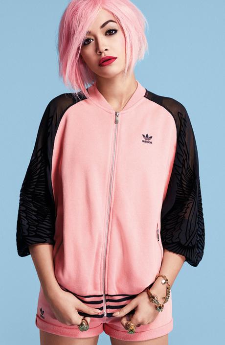 Коллекция Adidas Originals от Риты Оры