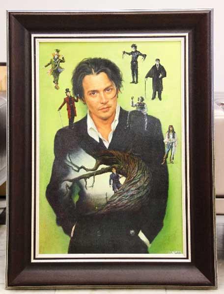 Выставка Никаса Сафронова в Сургуте Джонни Депп