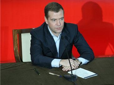 Дмитрий Медведев посетил Крильские острова