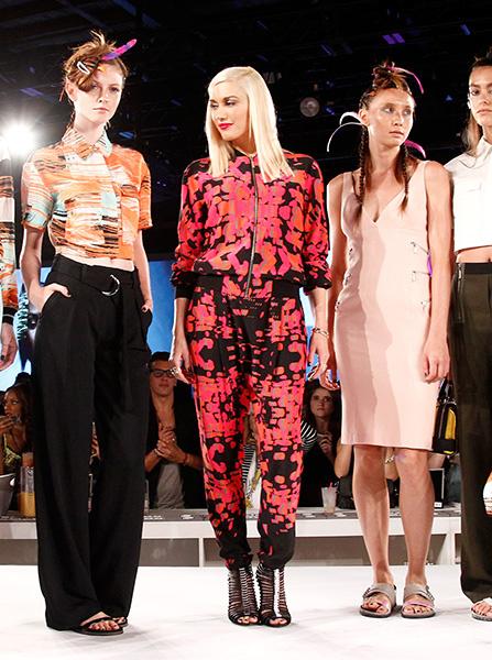 Гвен Стефани на презентации своего бренда, Неделя моды в Нью-Йорке весна-лето 2015