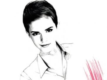 Эмма Уотсон (Emma Watson) не скрывает, что любит пользоваться помадой