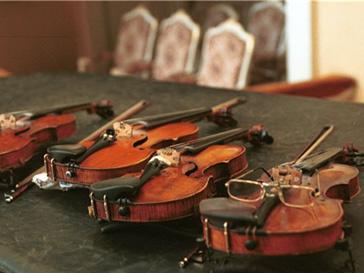 Конкурс среди скрипачей