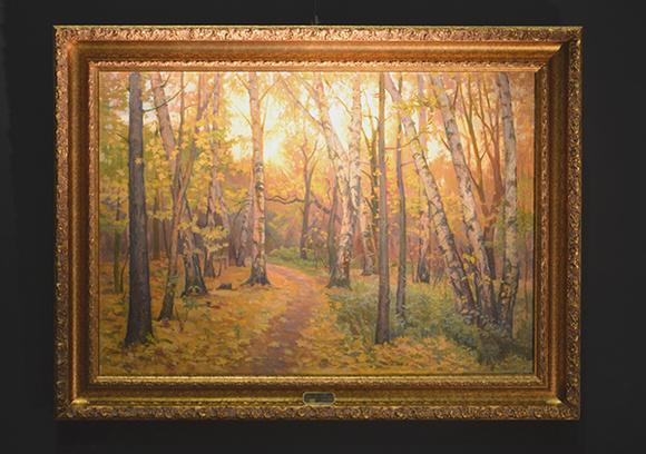 Пейзаж Александра Шилова-младшего