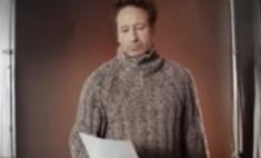 Дэвид Духовны читает стихи по-русски за деньги
