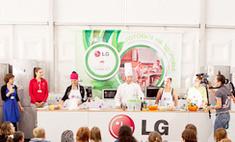 «Селигер-2012»: здоровое питание с LG