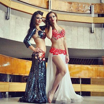 Виктория Миронова самая обворожительная восточная танцовщица Самары