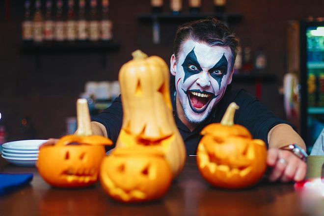 Грим на Хэллоуин в домашних условиях