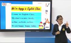видео урока английского языка тайских школьников вирусным