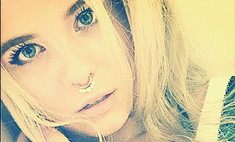 Дочь Валерии вставила кольцо в нос