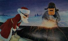 Ностальгии подборка: старые новогодние открытки